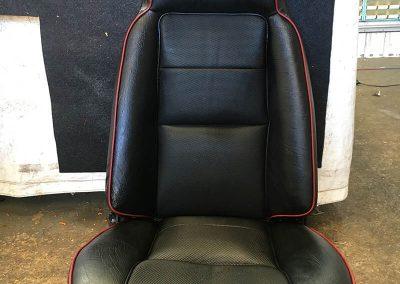 ford escort seat re-trim
