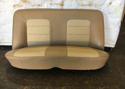 holden torana rear seat re-trim