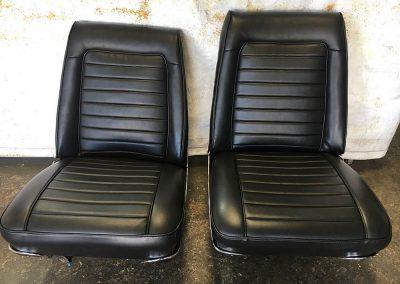 valiant front seats re-trim