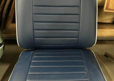 vw combi seat re-trim