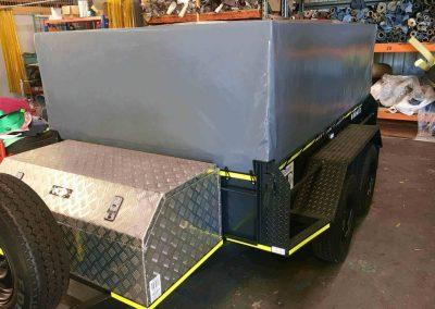 Custom Trailer Cover PVC Ripstop