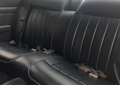 Holden rear seat re-trimmed in Adelaide