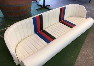Camero Ski Boat Re-trim of Rear Seat