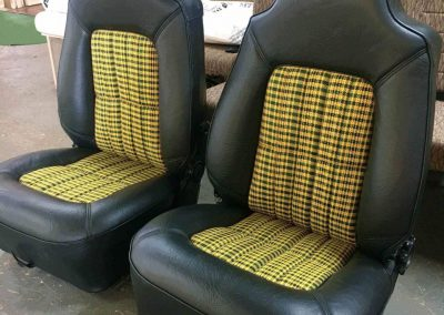 WB Holden UTE Front Seats Re-trim in suburban Adelaide